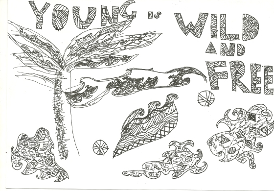 WE ARE YOUNG ,we are to conquer the world