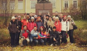 International Students Trip to Lomonosova